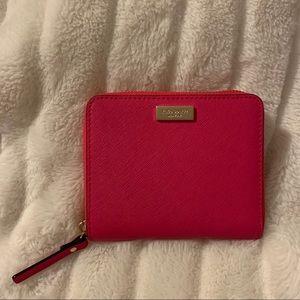 Kate Spade Darci Laurel Way Wallet /Radish (Pink)